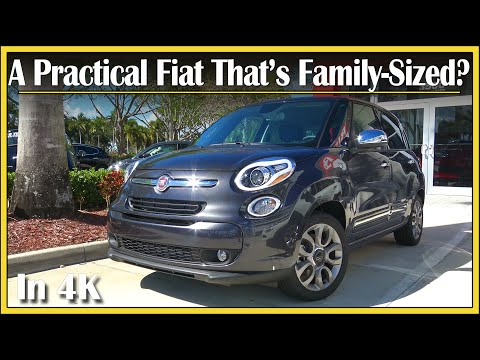 2017 Fiat 500L 1.4L Turbo Review | A Practical 4-Door Fiat?