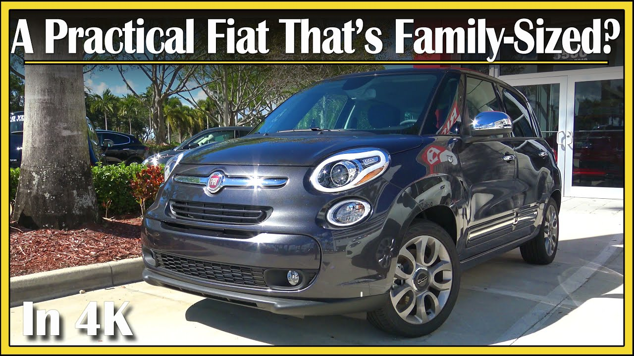 2017 Fiat 500L 14L Turbo Review  A Practical 4Door Fiat