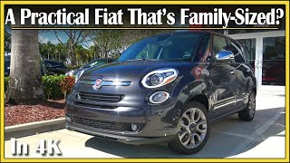 2017 Fiat 500L 1.4L Turbo Review | A Practical 4-Door Fiat? | Detailed & IN-DEPTH | In 4k UHD!