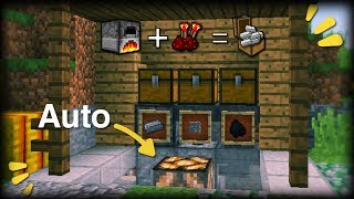 CARA MEMBUAT SMALL AUTO FURNACE - MINECRAFT INDONESIA