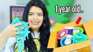 unboxing-a-1-year-old-slime-package