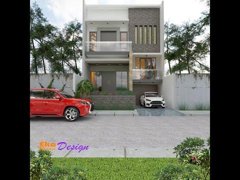 Jasa Desain Rumah Minimalis di Tangerang - Project Jakarta  2,5 Lantai - Eka Kreasi Design