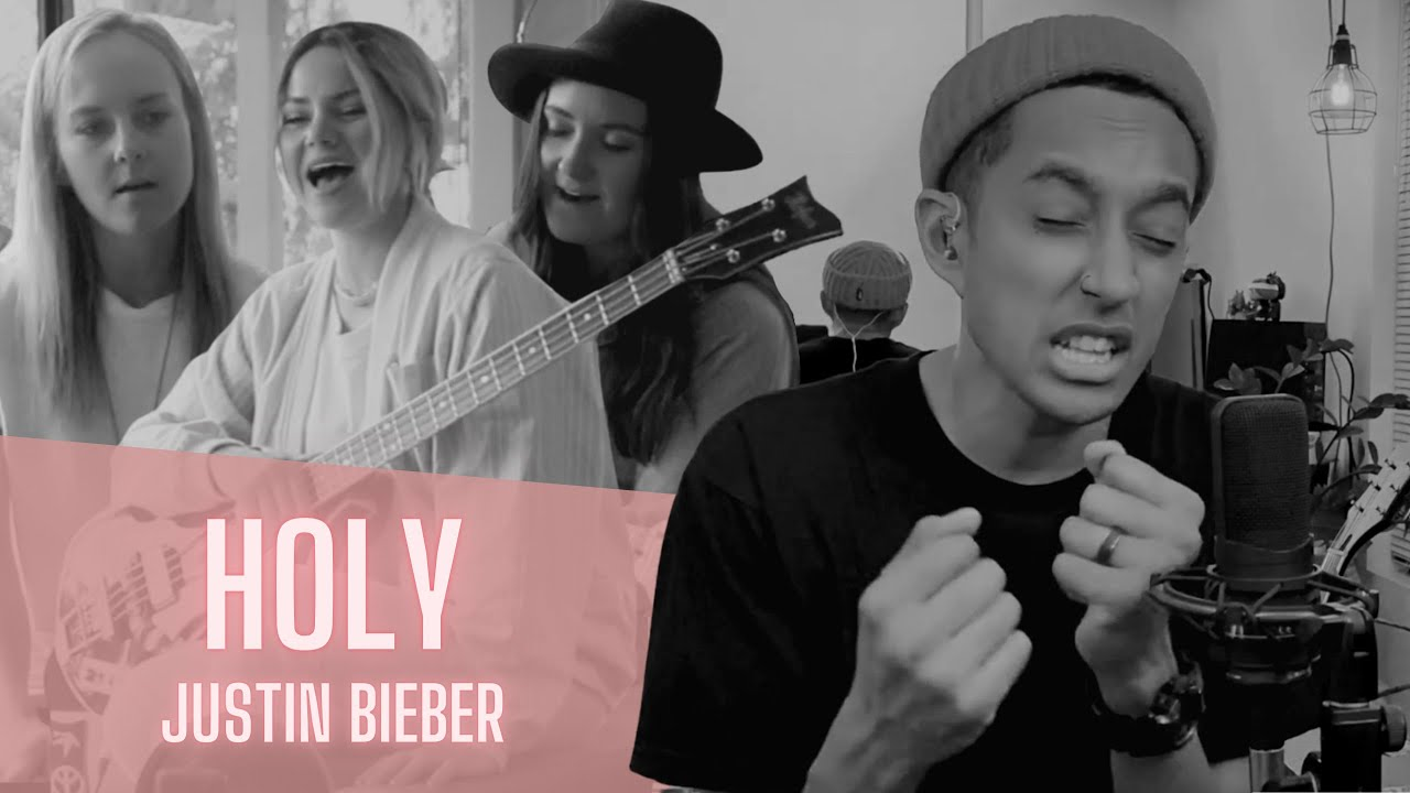 HOLY - Justin Bieber (ACOUSTIC COVER by Germein feat. Zeek Power)