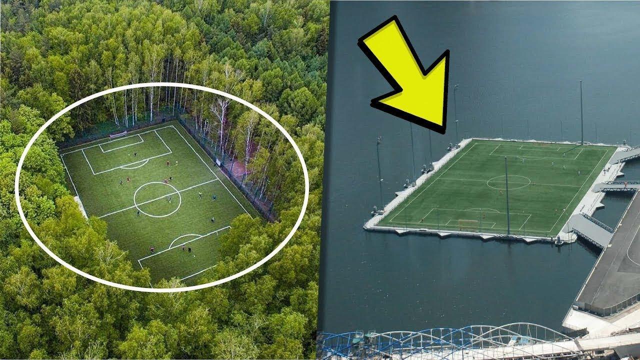 7 Estadios De Fútbol Que No Sabías Que Existían