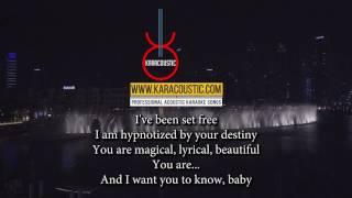 Love You Like a Love Song by Selena Gomez Acoustic Guitar Backing Track | Acoustic Karaoke