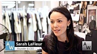 Moda Hattı Başlangıç için M. M. LaFleur kurucusu ''Sarah'' İlham neydi WIB?