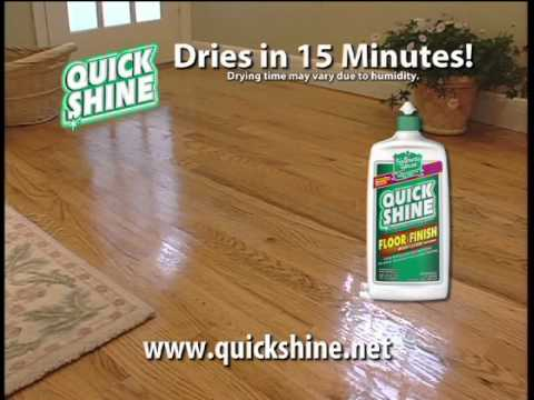 Quick Shine Floor Finish