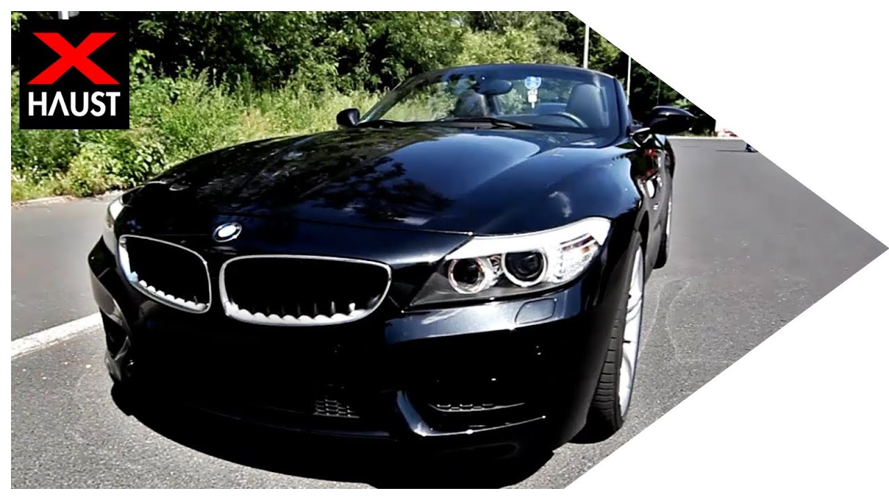 Bmw Z4 Sdrive23i Exhaust Sound Amp Drive By Youtube