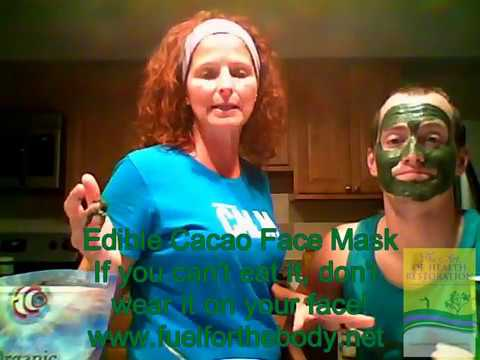 EDIBLE CACAO FACE MASK: TAKE YEARS OFF YOUR FACE    YESSEYYES