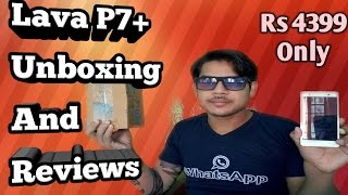 Lava P7 Plus Unboxing and Full Review Full Specification and Price in Hindi Urdu