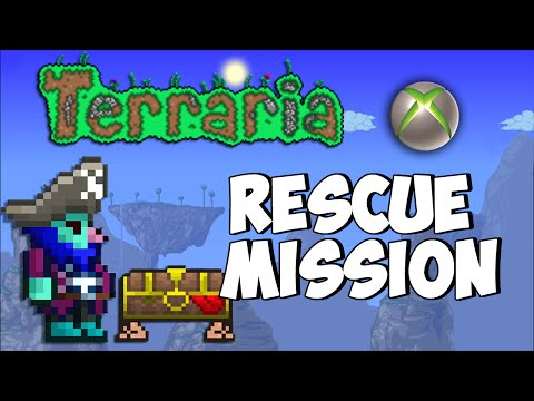 Terraria Xbox - Nitro's Magic Mansion - Rescue Mission [4]