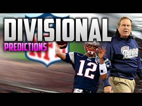 NFL Divisional Round Predictions!! WHO WILL SURVIVE???
