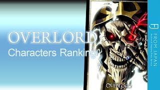 OVERLORD Anime Character Ranking Top 10 Fan Favorites FROM JAPAN