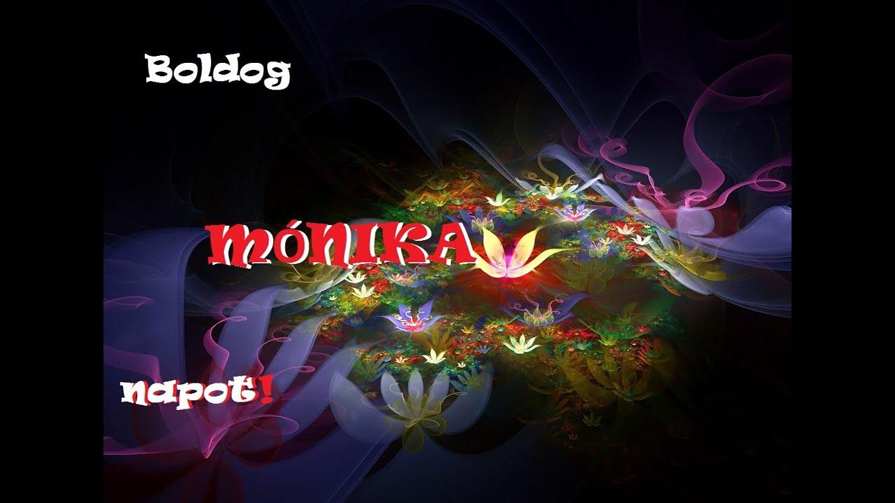 mónika névnap köszöntő Névnapi verses köszöntők Mónika napra   YouTube mónika névnap köszöntő