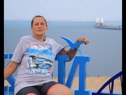 Татьяна Монтян, известный украинский блогер, посетила Крым