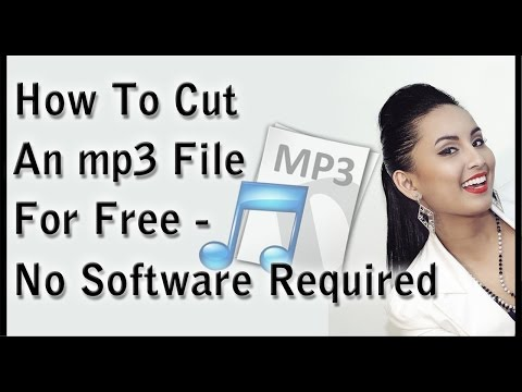 How To Cut Mp3 Files For Free - No Software Required!
