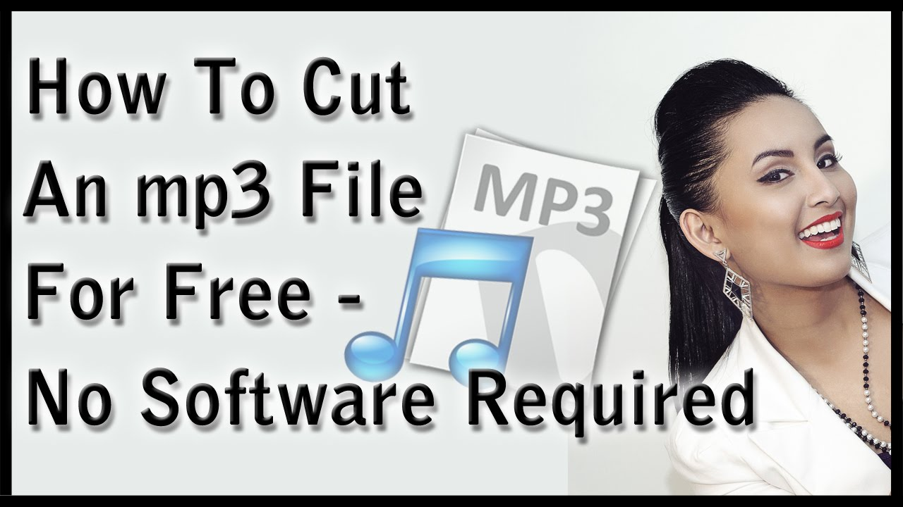 how to cut mp3 files for free no software required youtube. Black Bedroom Furniture Sets. Home Design Ideas
