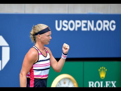 Paula Badosa Vs. Kiki Bertens   US Open 2019 R1 Highlights