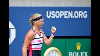 Paula Badosa vs. Kiki Bertens | US Open 2019 R1 Highlights