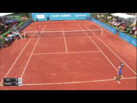 Siskova Anna v Hradecka Lucie - 2017 ITF Olomouc
