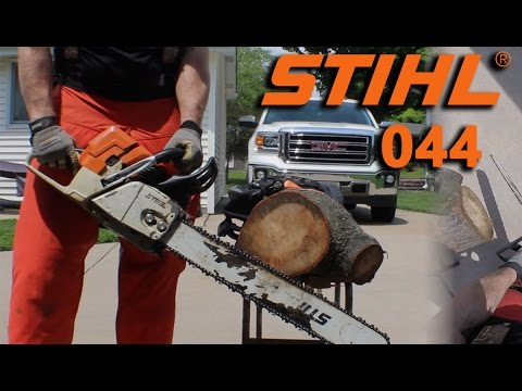 Stihl 044 Chainsaw overview