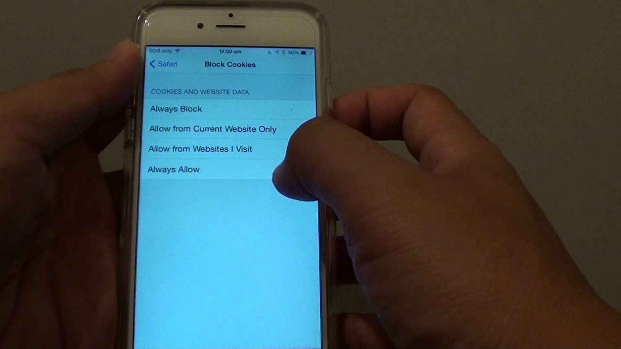 how to enable cookies iphone iphone 6 how to enable block website cookies in safari 17143
