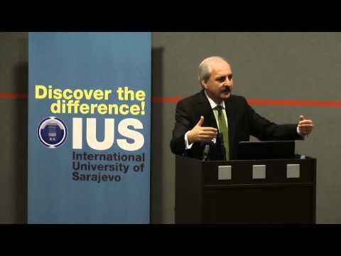 Prof. Dr.  Numan Kurtulmuş, IUS Akademik Yıl açılış konuşması