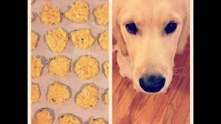 Peanut Butter Pumpkin Dog Treats