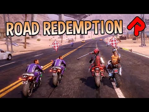 Road Redemption 1.0: Roguelite Motorbike Racing Game!   Let's play Road Redemption gameplay (PC)