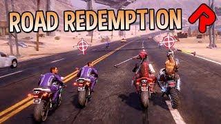 Road Redemption 1.0: Roguelite Motorbike Racing Game! | Let