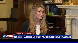 Sen. Kelly Loeffler on WNBA protests, federal deployment