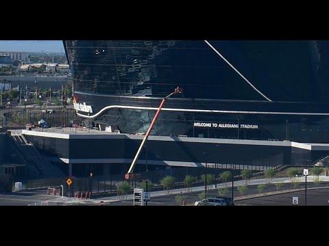 Las Vegas Stadium Construction Update July 31 2020: Las Vegas Raiders NFL Stadium Not Finished