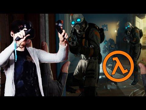 ЭТО ОФИГЕННО - Half-Life: Alyx #1 Достойно Half life 3?
