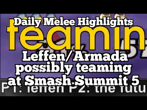 Daily Melee Highlights: Leffen/Armada possibly teaming at Smash Summit 5