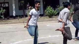 cock fighting (morog lorai) at ABM at SAU