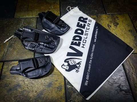 VEDDER HOLSTER REVIEW - The Best IWB Tuckable Holster?