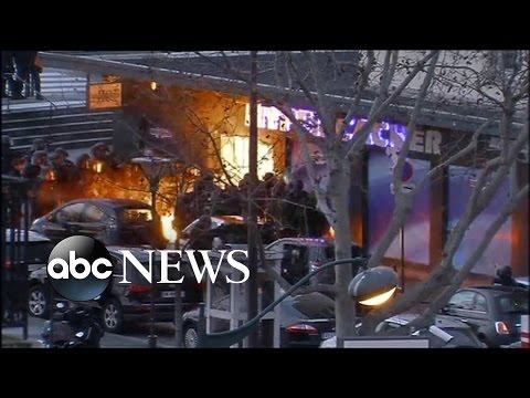 Paris Hostage Raid Video: Watch the Moment Police Storm Paris Supermarket