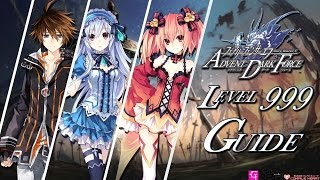 Fairy Fencer F - Advent Dark Force Easy Max level 999 Guide