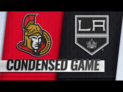 01/10/19 Condensed Game: Senators @ Kings