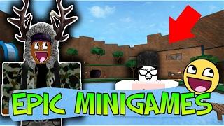 ROBLOX - THE GOD OF EPIC MINI GAMES! (EPIC MINI GAMES)