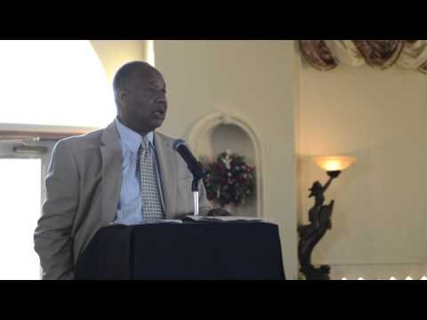 RAW VIDEO: Former professional football player Charles V. Pittman gives advice to young athletes