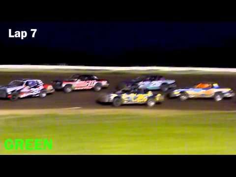 Tiffany Bittner - Riviera Raceway 8-10-13 Hobby Stock A Feature