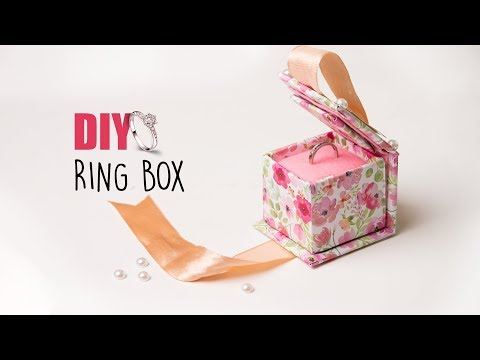 DIY RING BOX | Wedding Gift Ideas | Gift Box