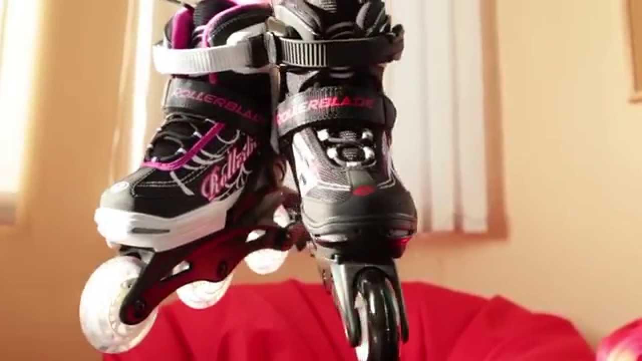 коньки oxelo для девочки, размер 28-31 - YouTube
