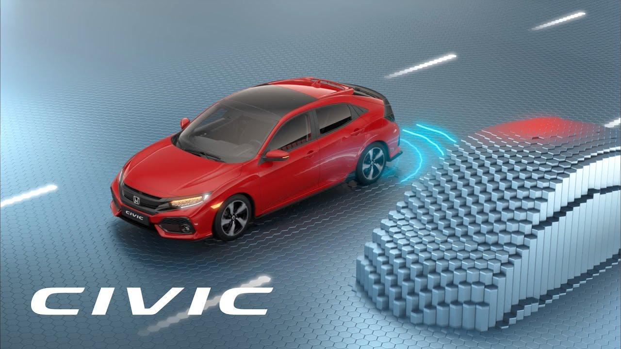 Honda Civic Sistemas De Seguridad Avanzados