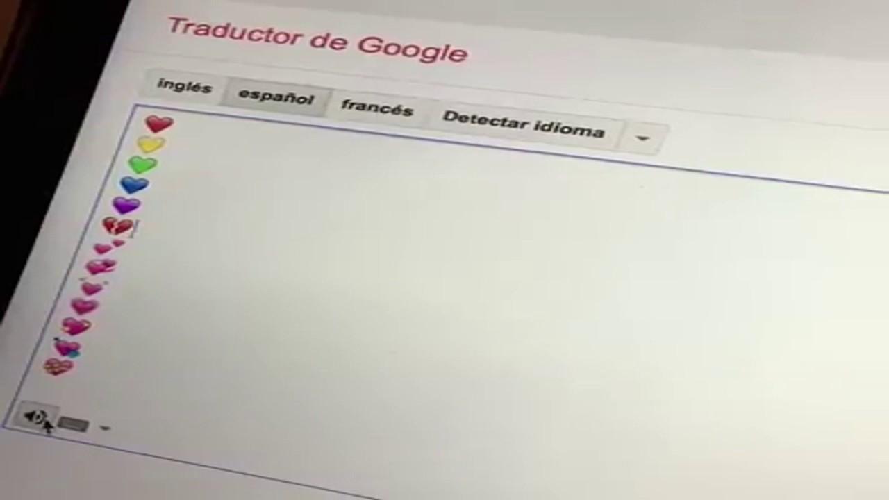 Aprendiendo El Significado De Los Emojis De Corazones Con Traductor