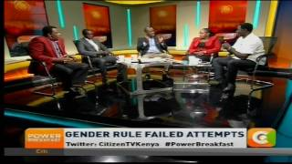 Power Breakfast news review: Gender rule failed attempts