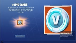 FORTNITE REGALA 1000 FREE PAVOS AND 15 LEVELS OF THE BATTLE PASS!