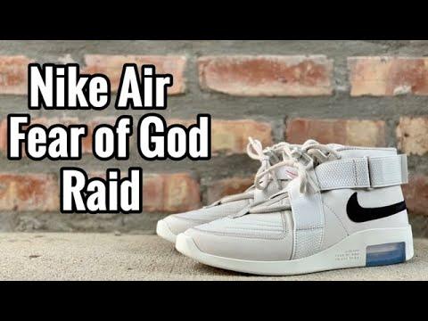 quality design 0c7fb e97f7 Air Fear of God Raid review