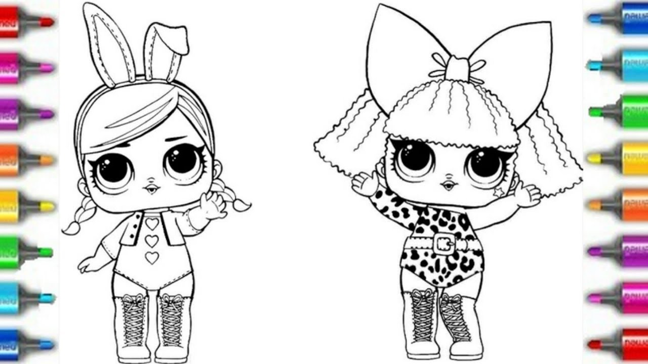 LOL Surprise Dolls Diva Coloring Book | Раскраска Куклы ...